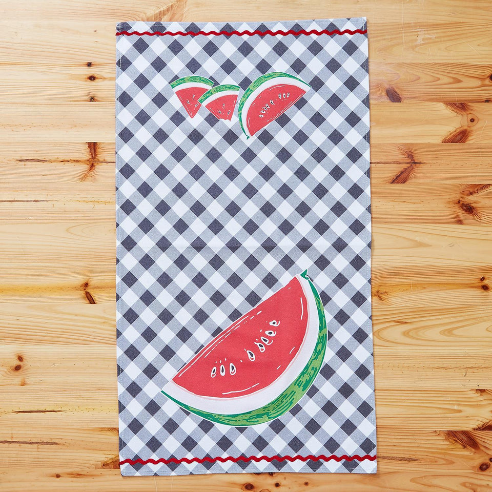 Fresh Picked Dish Towel | Watermelon, Cherry or Strawberry