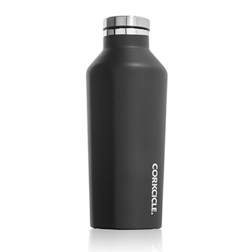 9oz Canteen Matte Black