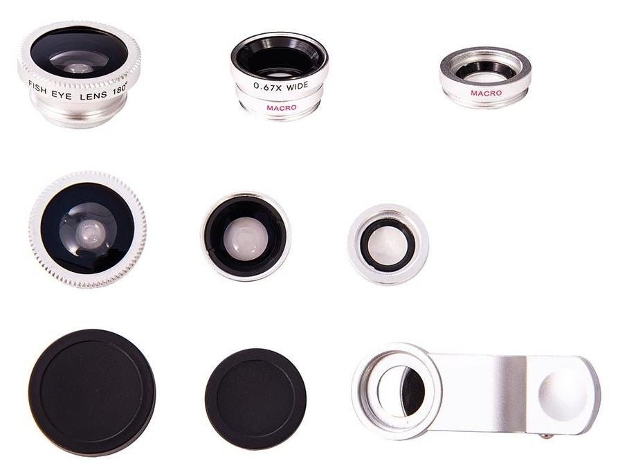 Smart FX-Clip on Phone Camera Lens (set of 3)