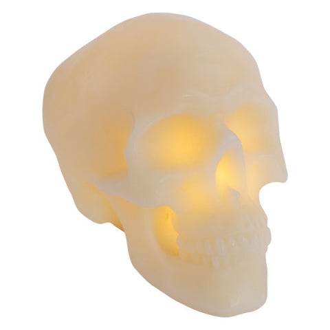 Skull Wax Lamp Large
