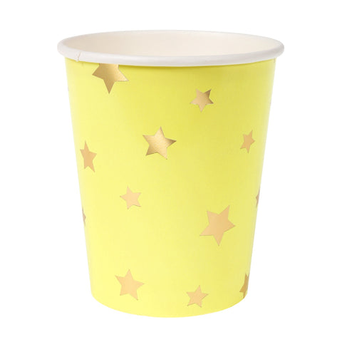 Jazzy Star Star Party Cups 8S