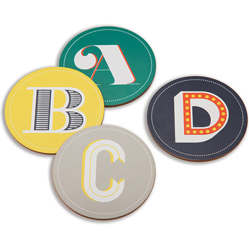 Coasters - ABCD