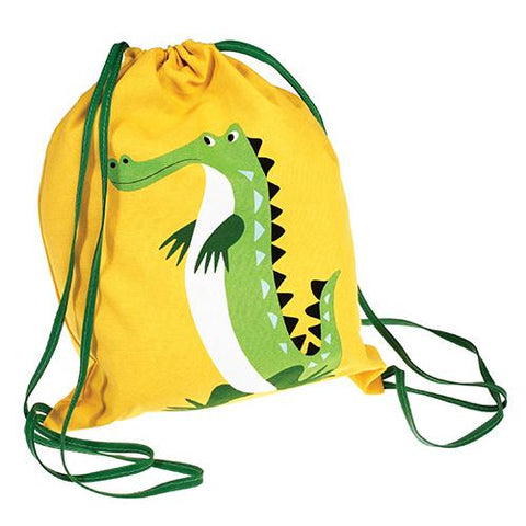 Drawstring Bag - Crocodile