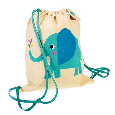 Drawstring Bag - Elephant