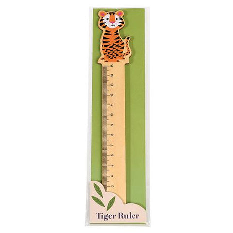 Wooden Ruler - Tiger