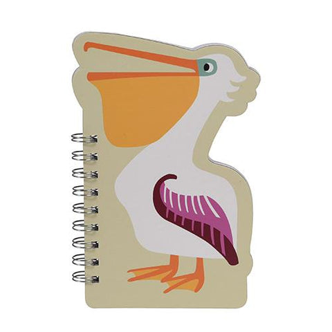 Spiral Notebook - Pelican