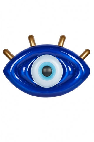 Luxe Lie-On Float Greek Eye | Sunnylife