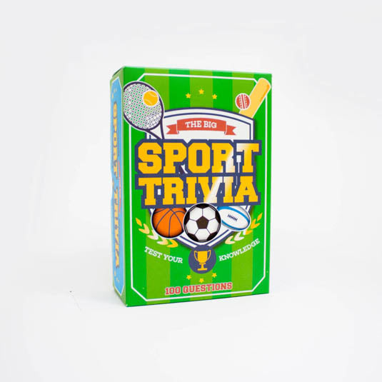 Big Sports Trivia | Gift Republic