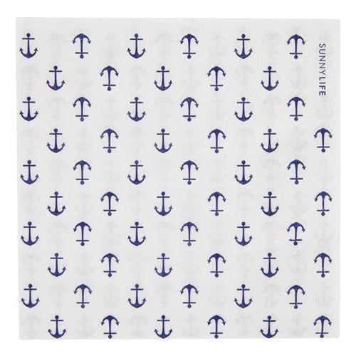 Paper Napk. C. 20Set - Anchor | Sunnylife