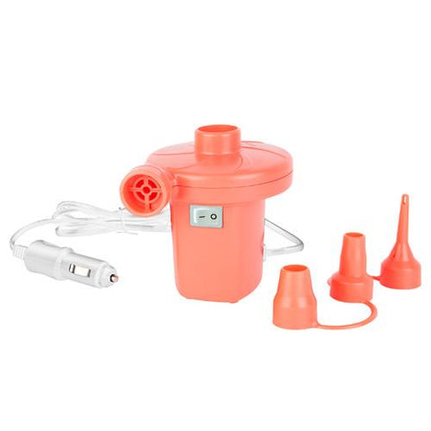 Car Air Pump Hot Coral