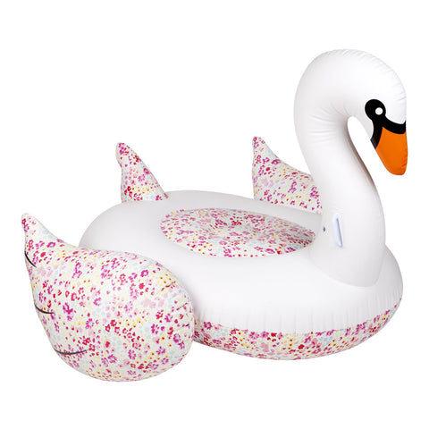 Luxe Float Liberty Swan Flowers