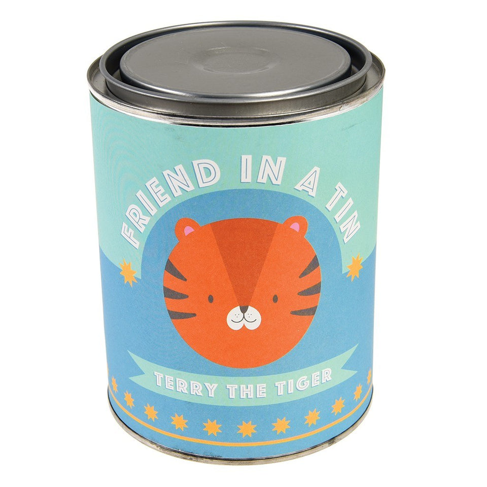 Friend In A Tin - Tiger