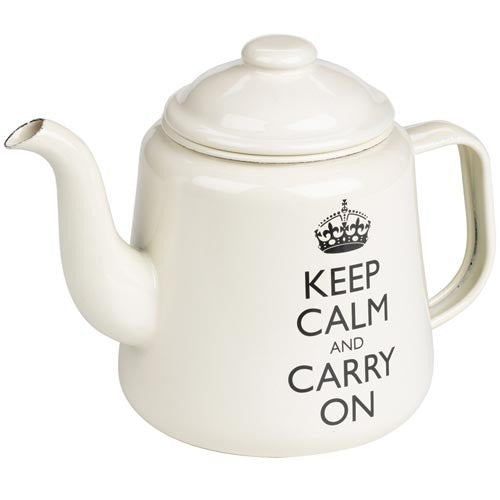 Keep Calm - Tea Pot