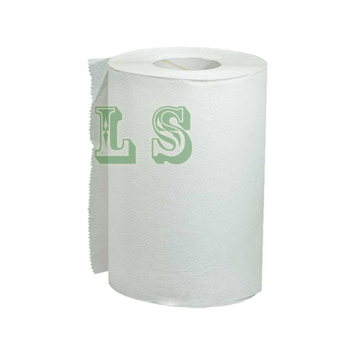 White Swan 01930-1Ply White Roll Paper Towel (24x205')  #5035