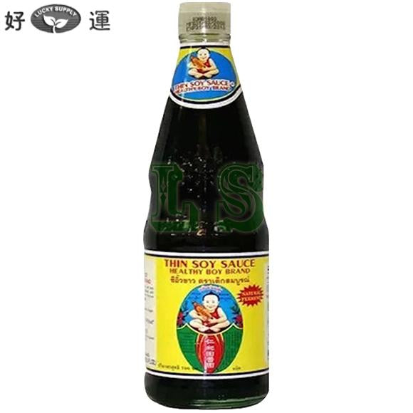 Healthy Boy Thin Soy Sauce 12x700mL/CS