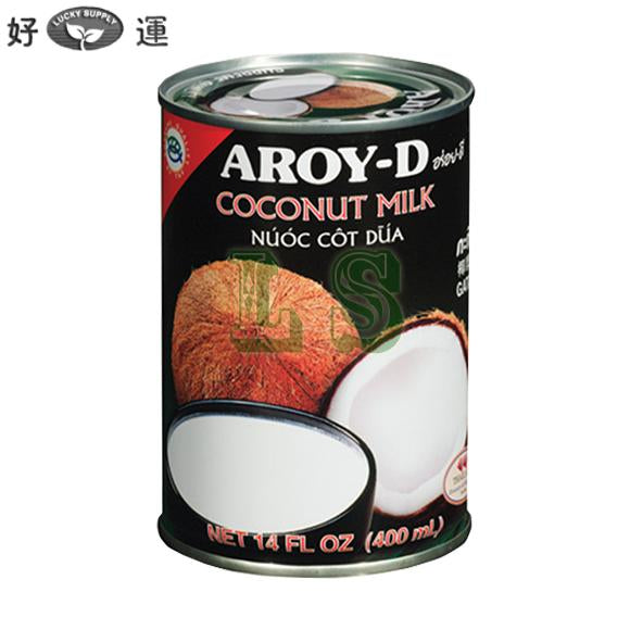 AROY-D Coconut Milk (24x400mL)