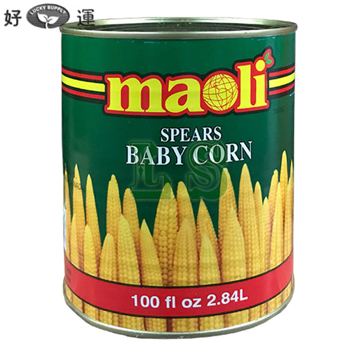 Maoli Baby Corn, Whole 6x100oz/CS