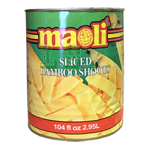 Maoli Bamboo Shoot, Sliced 6x100oz/CS