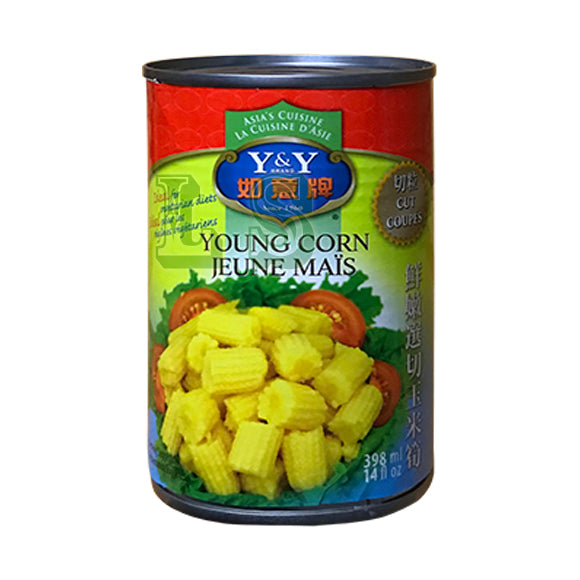 Y&Y Baby Corn, Cut 24x398mL/CS