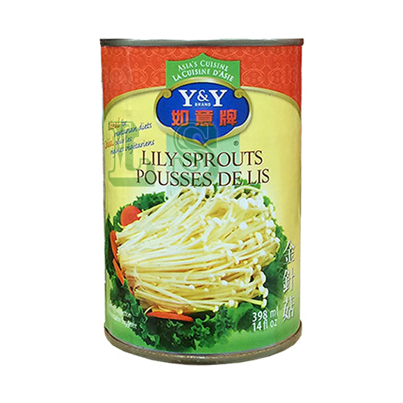 Y&Y Lily Sprouts 24x398mL/CS