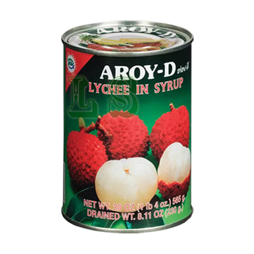 AROY-D Lychee In Syrup (24x565G)