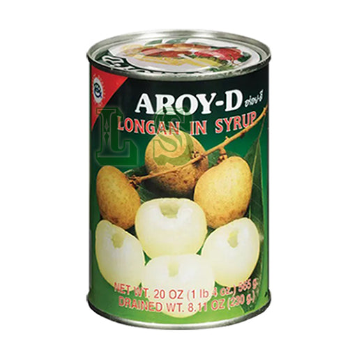 AROY-D Longan in Syrup (24x555G)