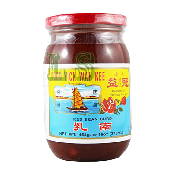 Koon Yick Preserved Red Bean Curd  24x454G/CS