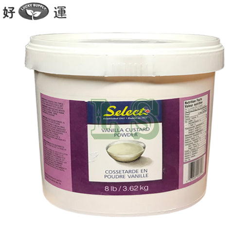Select Vanilla Custard Powder 8LB/PL=