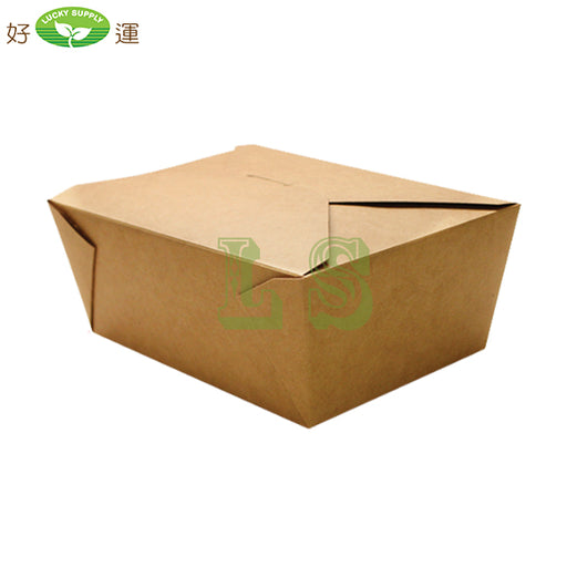 "#1 Paper Take-Out Containers 5"" x 4.5"" x 2.5"" - 450'/CS"