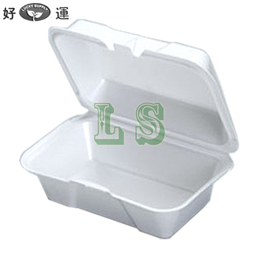 Genpak 21700, Small Deep Foam Hinged Container (500's) *