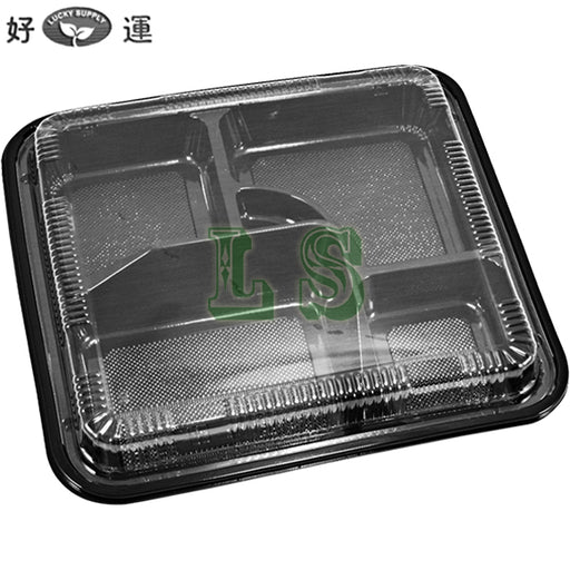 HQ-307 Bento Box With Lid (2x50Set)