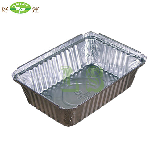 406330D, 2.25LB Rectangular Foil Pan (500's)
