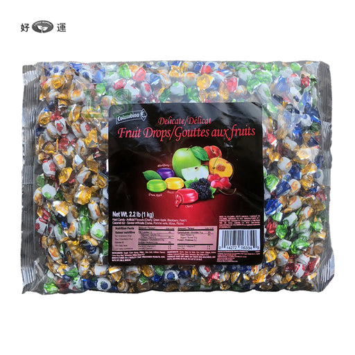 Columbina Mini Fruit Candy 4x1KG/CS