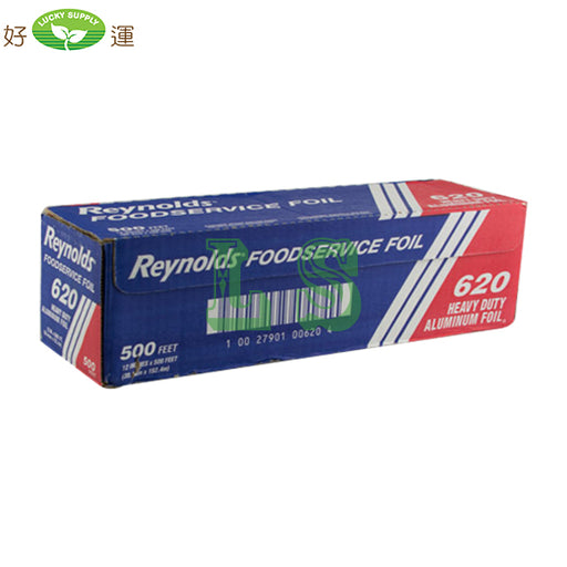 "Reynolds 12"" Heavy Duty Foil Wrap, #620 (12x500FEET) #4542"