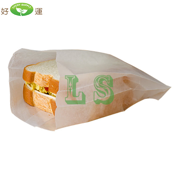 Sandwich Bag Waxed, (1000's)  #4212