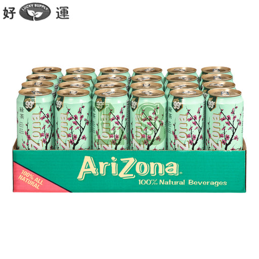 Arizona Green Tea w/ Ginseng&Honey (24x680mL)