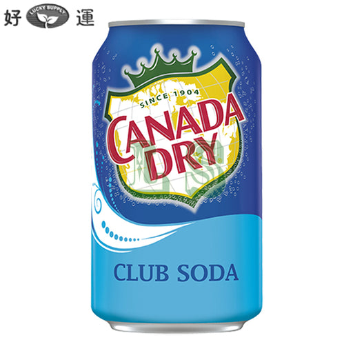 CanadaDry Club Soda (12CN)