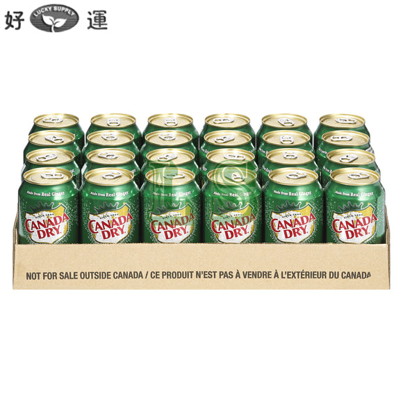 Ginger Ale CanadaDry 24CN/CS  #2242