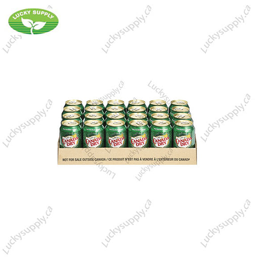 Canada Dry Ginger Ale (24x355mL)