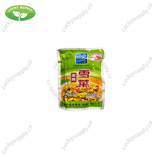 鱼泉牌美味雪菜 Fish Well Potherb Mustard (20x350G)
