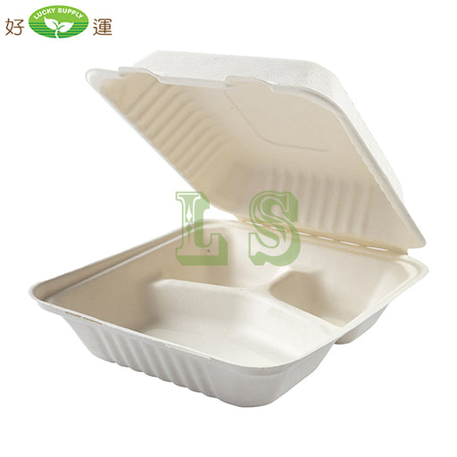 Dynasco GD-883, 3-Compartment Fiber Container (200's) *