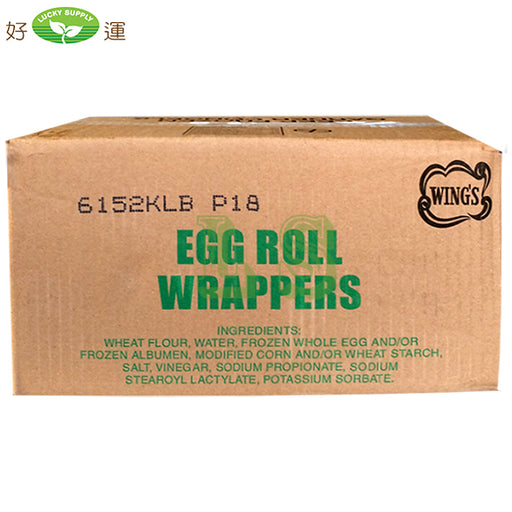 Wing's Vacuum Egg Roll Wrap (18x1KG)