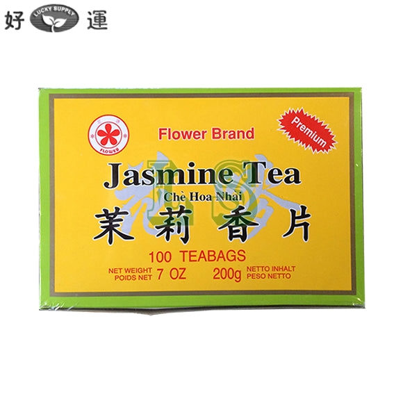 Flower Brand Jasmine Tea 100'Teabags/Box
