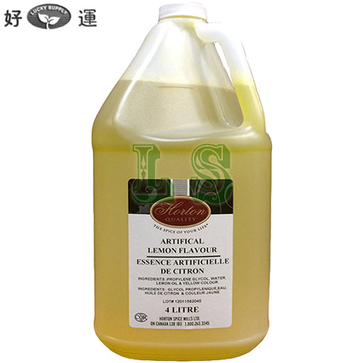 Horton Lemon Extract 4x4L/CS