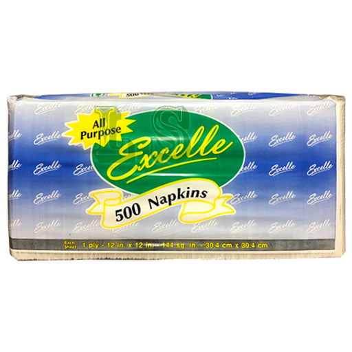 Excelle Luncheon Napkin 1 Ply (12x500's)  #5003