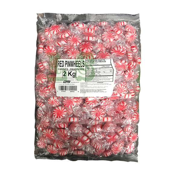 Red Pinwheels  Candy 6x2KG/CS