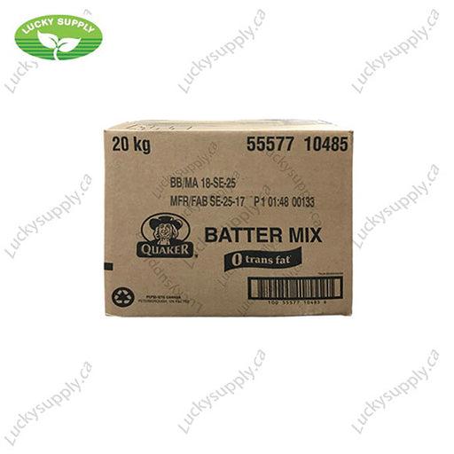 Quaker Batter Mix (20KG)