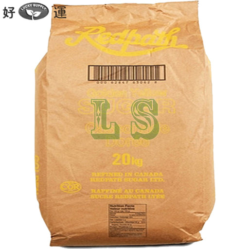 Redpath Golden Yellow Sugar 20KG/BAG