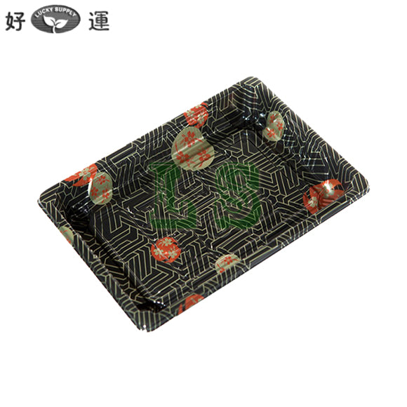 FH-08 Sushi Tray With Lid*1500Set/CS  #3403