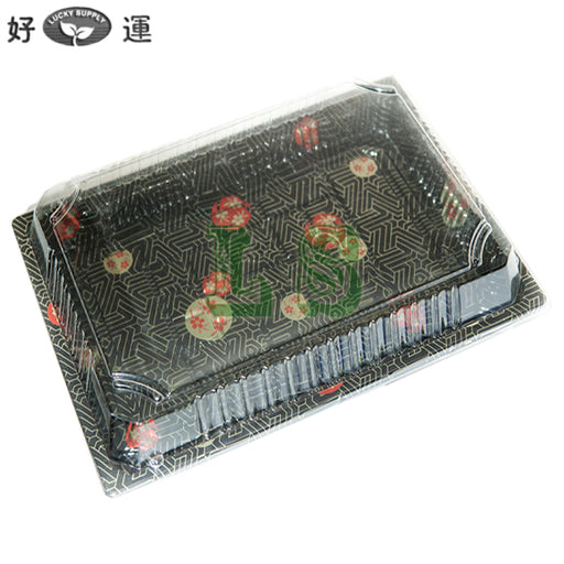 HQ-25 Sushi Tray With Lid*500Set/CS